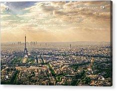 Paris, France Acrylic Print by Mohamed Kazzaz