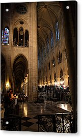 Paris France - Notre Dame De Paris - 011310 Acrylic Print by DC Photographer