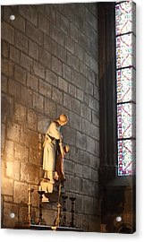 Paris France - Notre Dame De Paris - 01135 Acrylic Print