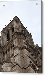 Paris France - Notre Dame De Paris - 01139 Acrylic Print by DC Photographer