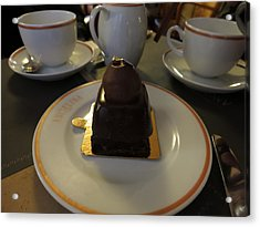Paris France - Pastries - 1212120 Acrylic Print by DC Photographer