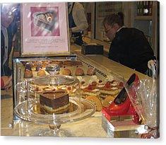 Paris France - Pastries - 1212132 Acrylic Print by DC Photographer