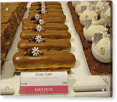 Paris France - Pastries - 121279 Acrylic Print by DC Photographer