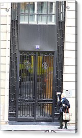 Paris France - Street Scenes - 0113103 Acrylic Print by DC Photographer