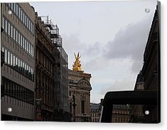 Paris France - Street Scenes - 0113106 Acrylic Print by DC Photographer
