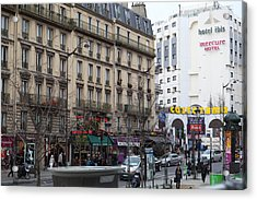 Paris France - Street Scenes - 0113131 Acrylic Print by DC Photographer