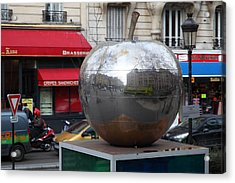 Paris France - Street Scenes - 0113135 Acrylic Print by DC Photographer