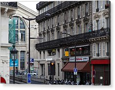 Paris France - Street Scenes - 0113140 Acrylic Print by DC Photographer