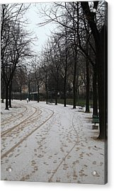 Paris France - Street Scenes - 011325 Acrylic Print by DC Photographer