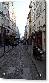 Paris France - Street Scenes - 01133 Acrylic Print by DC Photographer
