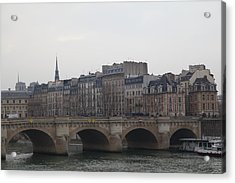 Paris France - Street Scenes - 011343 Acrylic Print by DC Photographer