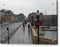 Paris France - Street Scenes - 011348 Acrylic Print by DC Photographer