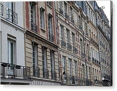 Paris France - Street Scenes - 011357 Acrylic Print by DC Photographer