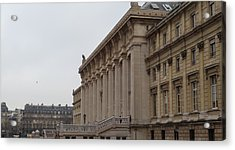 Paris France - Street Scenes - 011359 Acrylic Print by DC Photographer