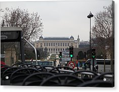 Paris France - Street Scenes - 011387 Acrylic Print