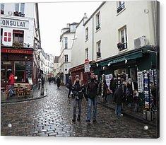 Paris France - Street Scenes - 121220 Acrylic Print