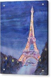 Paris Giant Acrylic Print by Jenny Armitage