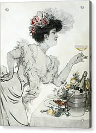 Paris Holiday  1904 Acrylic Print