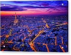 Paris I Acrylic Print by Juan Pablo De