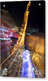 Paris In Vegas Acrylic Print by Igor Kislev