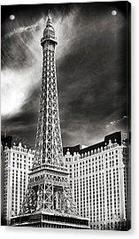Paris Las Vegas Acrylic Print by John Rizzuto