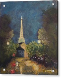 Paris Lights Acrylic Print