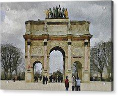 Paris Louvre 4 Acrylic Print