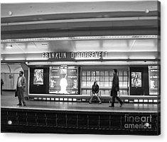 Paris Metro - Franklin Roosevelt Station Acrylic Print