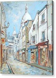 Paris - Montmartre Acrylic Print