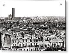 Paris Montparnasse Acrylic Print