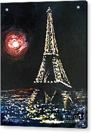 Paris Night Acrylic Print