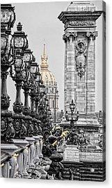 Paris Pompous Acrylic Print