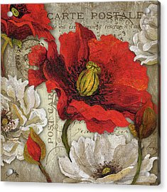 Paris Postcard II Acrylic Print