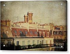 Paris Rooftops Acrylic Print