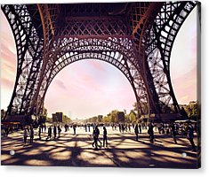 Paris Shadows Acrylic Print by Ivan Vukelic