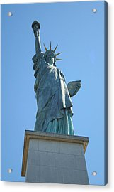 Paris Statue Of Liberty Acrylic Print by Kay Gilley