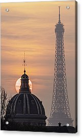 Paris Sunset IIi Acrylic Print