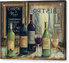 Paris Wine Tasting Acrylic Print