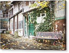 Parisian Alley Acrylic Print