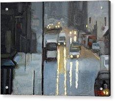 Parisian Storm Acrylic Print