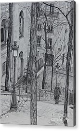 Parisienne Walkways Acrylic Print
