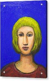 Parisienne With A Bob Haircut Acrylic Print by Kazuya Akimoto