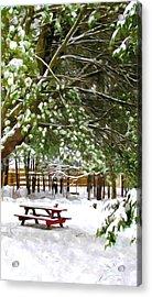 Park 1 Acrylic Print by Lanjee Chee