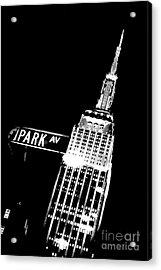 Park Avenue Acrylic Print by Az Jackson