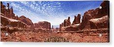 Park Avenue - Utah Acrylic Print by Mike McGlothlen