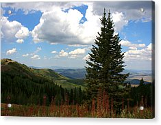 Park City Utah View Acrylic Print by Darrin Aldridge