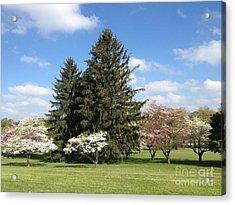 Acrylic Print featuring the photograph Cedar Beach Park  by Jeannie Rhode