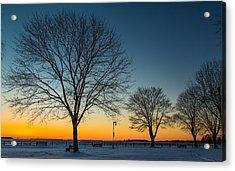 Park Sunset Acrylic Print