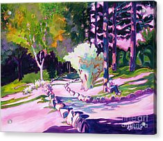 Park Trails 2           Acrylic Print