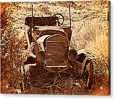 Parked 2 Acrylic Print by Leland D Howard
